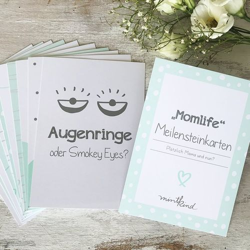 "Meilensteinkarten Mini-Set ""Momlife"""